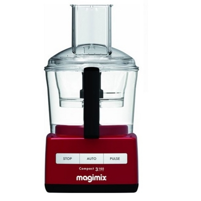 Magimix 3160 Food Processor Red Small Compact - Save £25