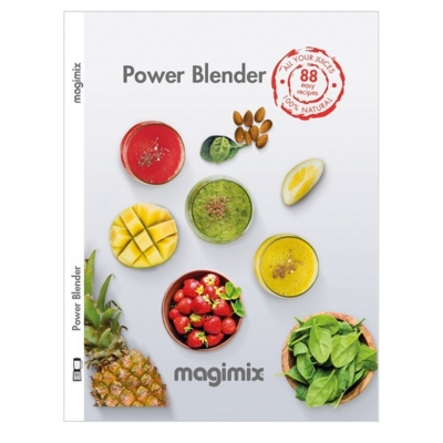 Magimix Power Blender Recipe Book - Hardback