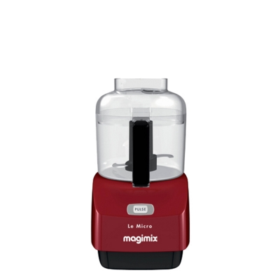 Magimix Le Micro Chopper Red, Small Quantities 18114