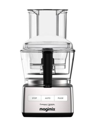 Magimix Compact System 3200XL Satin Food Processor 18371 NEW