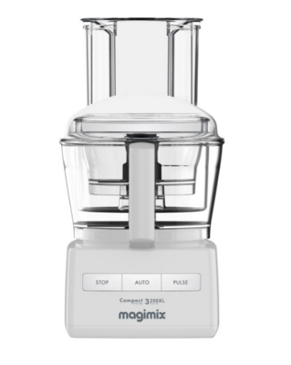 Magimix Compact System 3200XL White Food Processor 18370 NEW