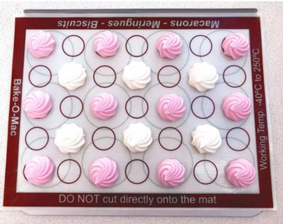 Silicone Macaron & Meringue Baking Mat 410 x 310mm