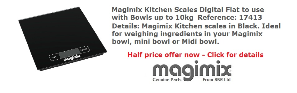 Magimix kitchen scales