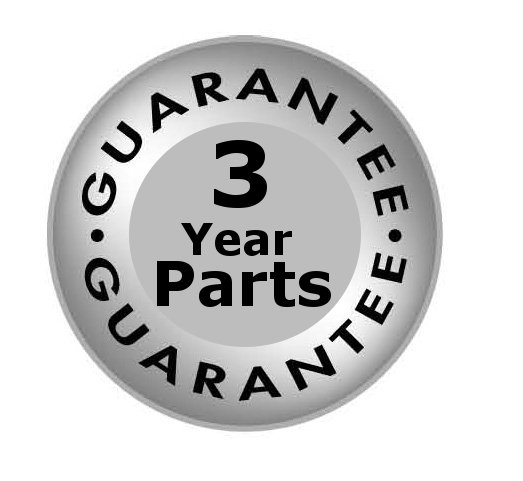 3 year parts guarantee