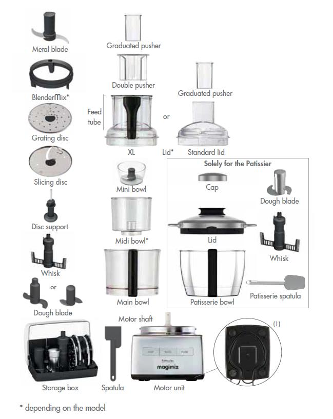 Magimix Food Processor Spare Parts Uk
