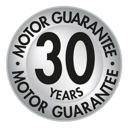 New 30 year motor guarantee